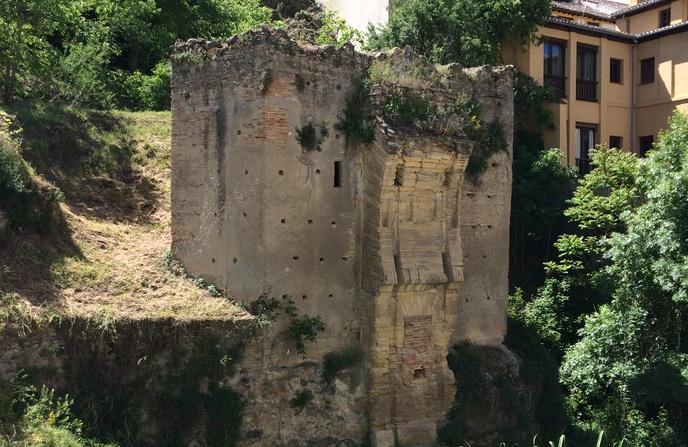 Restos de la puerta de los tableros en la margen del r o - Portes en granada ...